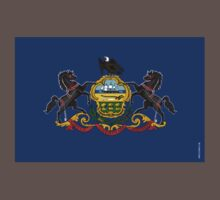 Pennsylvania State Flag Kids Clothes