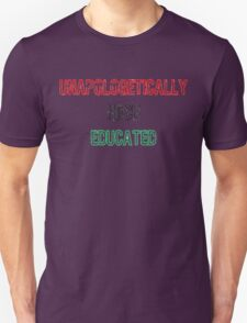 Black & Educated Unisex T-Shirt