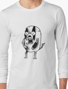Adventure Time Black Metal Part. Two Long Sleeve T-Shirt