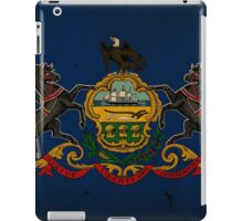 Pennsylvania State Flag VINTAGE iPad Case/Skin