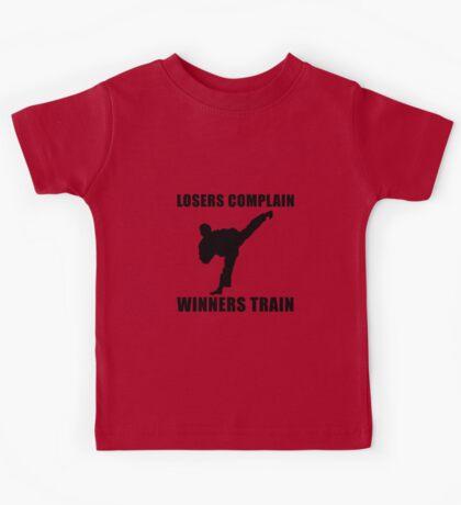 Martial Arts Winners Train Kids Tee