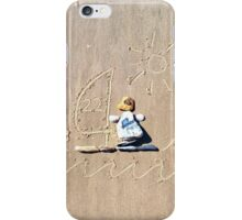 He's a penguin, he likes to windsurf! iPhone Case/Skin