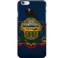 Pennsylvania State Flag VINTAGE iPhone Case/Skin
