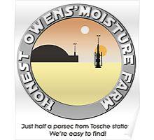 Honest Owens Moisture Farm Poster