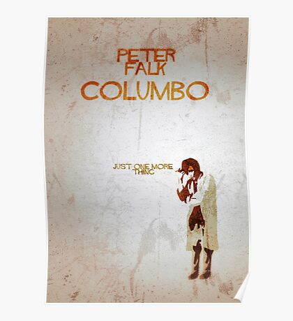 Columbo - Just One More Thing Poster