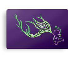 Tribal Dragon - Spike Canvas Print