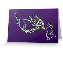 Tribal Dragon - Spike Greeting Card