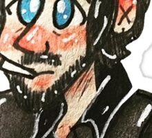 Teddy Boy Ringo Sticker