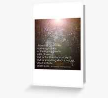 Leaping Greeting Card