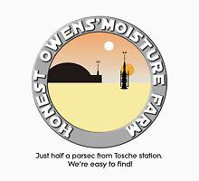 Honest Owens Moisture Farm Unisex T-Shirt