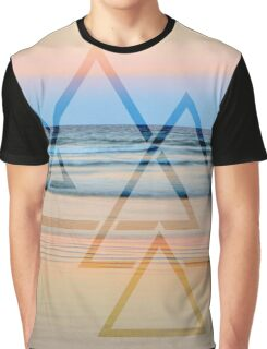 Sunset Geometry Graphic T-Shirt