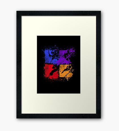 Ninja Turtles Framed Print
