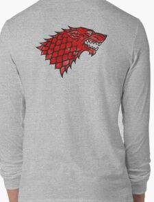 House Stark (blood) Long Sleeve T-Shirt