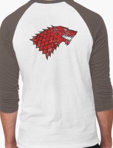 House Stark (blood) Men's Baseball ¾ T-Shirt