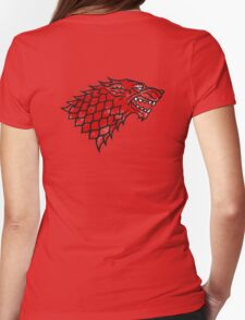 House Stark (blood) Womens Fitted T-Shirt
