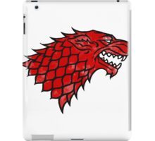 House Stark (blood) iPad Case/Skin