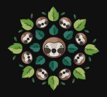 Mandala Sloth One Piece - Long Sleeve