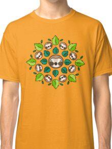Mandala Sloth Classic T-Shirt