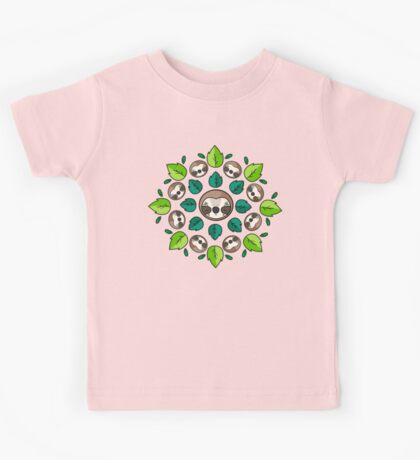 Mandala Sloth Kids Clothes
