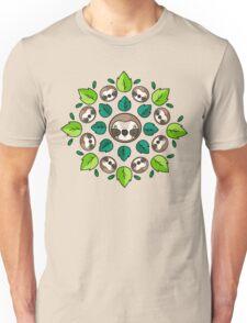 Mandala Sloth Unisex T-Shirt