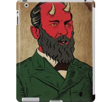 James Abaddon Garfield-Demon iPad Case/Skin