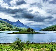 Loch Leven, Scotland by Spiritmaiden