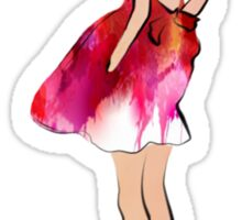 Summer Girl Sticker