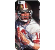 JOE MONTANA SAN FRANCISCO #16 iPhone Case/Skin
