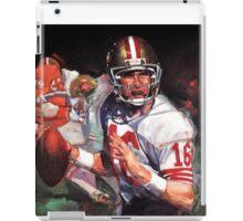 JOE MONTANA SAN FRANCISCO #16 iPad Case/Skin