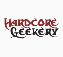 Hardcore geek by Boogiemonst