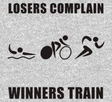 Triathlon Winners Train Kids Tee