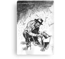 Tom Waits - Illustration Canvas Print