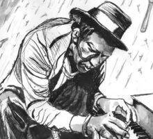 Tom Waits - Illustration Sticker