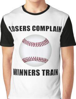 Baseball Winners Train Graphic T-Shirt