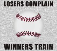 Baseball Winners Train Kids Tee