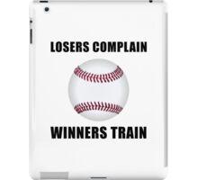 Baseball Winners Train iPad Case/Skin
