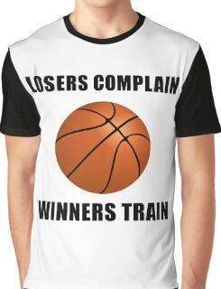 Basketball Winners Train Graphic T-Shirt