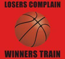 Basketball Winners Train One Piece - Short Sleeve