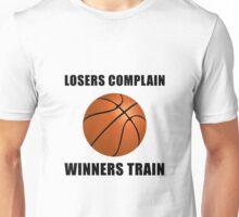 Basketball Winners Train Unisex T-Shirt