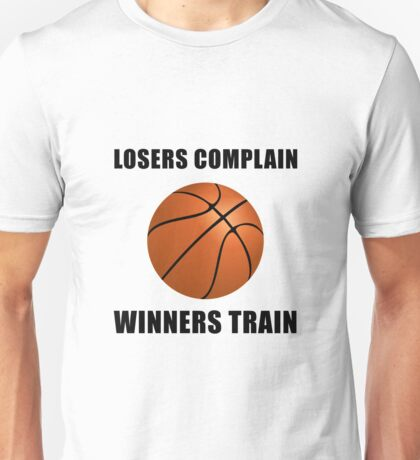 Basketball Winners Train Unisex T-Shirt
