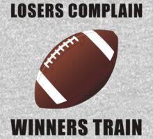 Football Winners Train Baby Tee