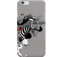 Ember Series Zebra iPhone Case/Skin