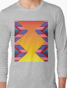 American Long Sleeve T-Shirt