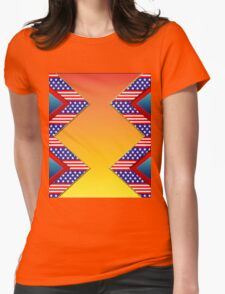 American Womens Fitted T-Shirt