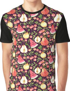 Watercolor fruits Graphic T-Shirt