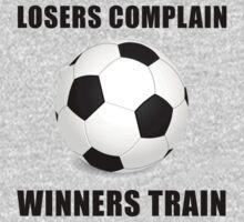 Soccer Winners Train One Piece - Short Sleeve