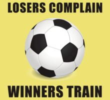 Soccer Winners Train Baby Tee