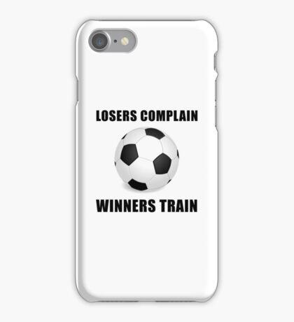 Soccer Winners Train iPhone Case/Skin