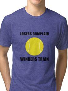 Tennis Winners Train Tri-blend T-Shirt