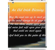 An Old Irish Blessing #1 iPad Case/Skin